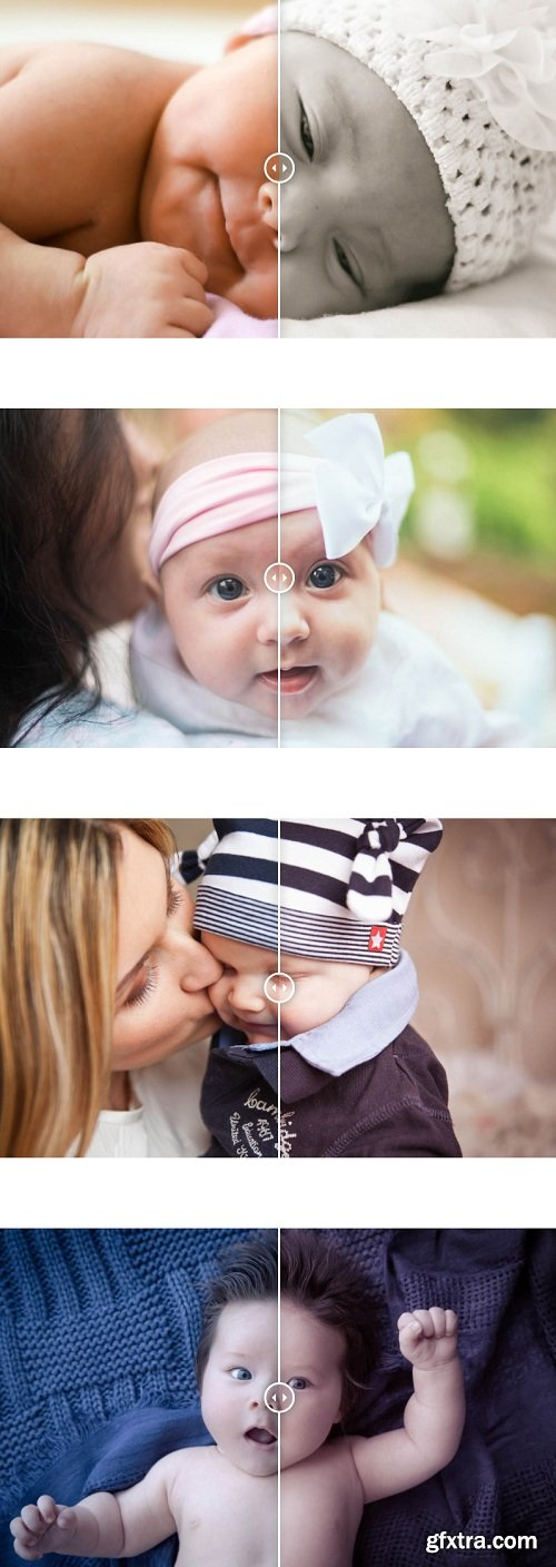 Photonify - Newborn Collection Lightroom Presets