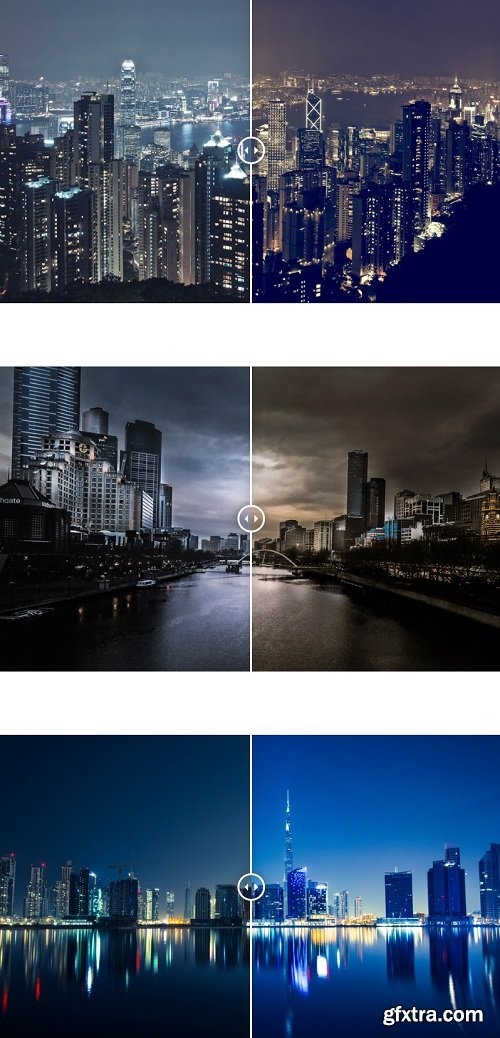 Photonify - City Nights Collection Lightroom Presets