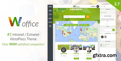ThemeForest - Woffice v2.7.2.1 - Intranet/Extranet WordPress Theme - 11671924