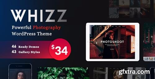 ThemeForest - Photography Whizz v1.3.9.17 - Photography WordPress for Photography - 20234560