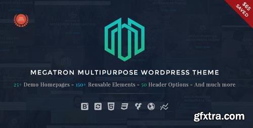 ThemeForest - Megatron v2.8 - Responsive MultiPurpose WordPress Theme - 14063654