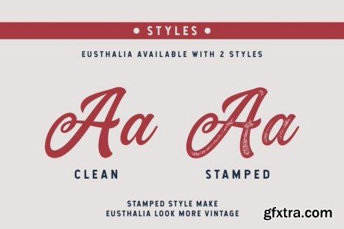 Eusthalia Font Family - 4 Fonts