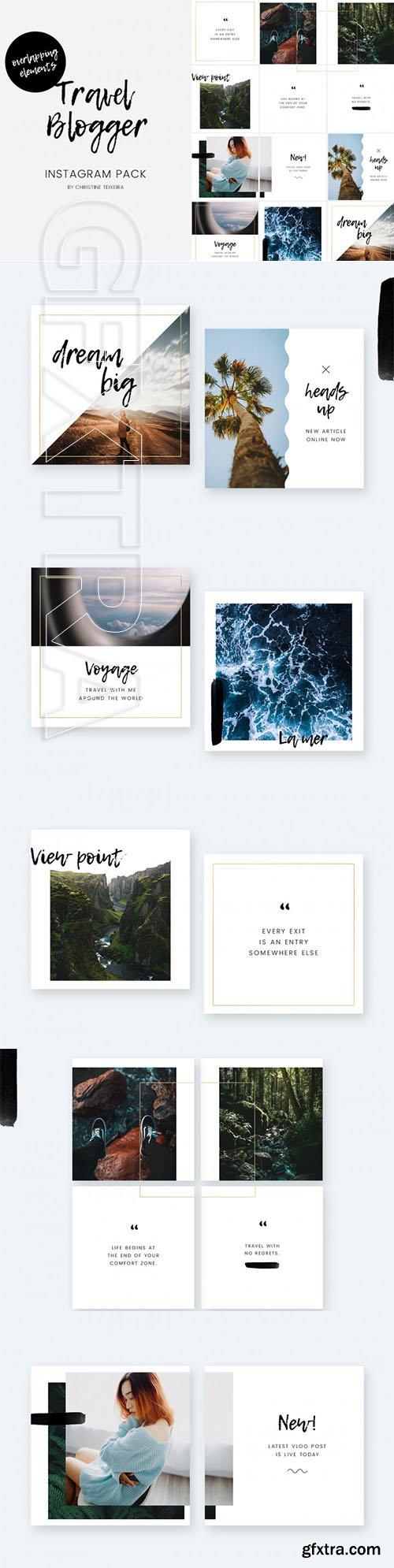 Travel Blogger Instagram Pack