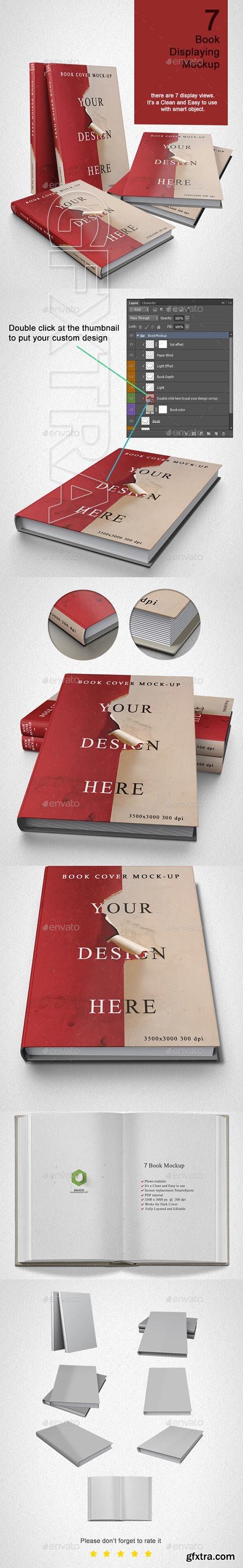 GraphicRiver - Book Mock up - 7 Model 21973325