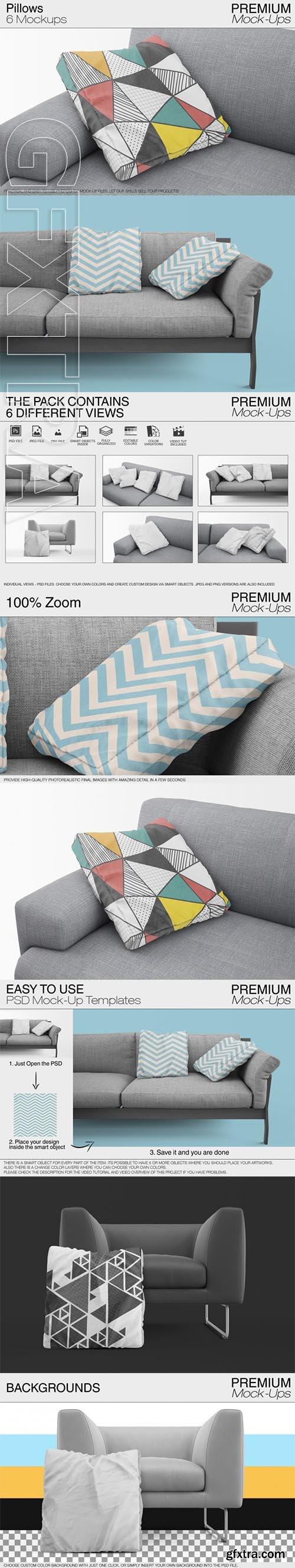 Pillow Mock-ups vol 1