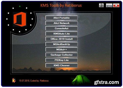 Ratiborus KMS Tools Portable 15.07.2018