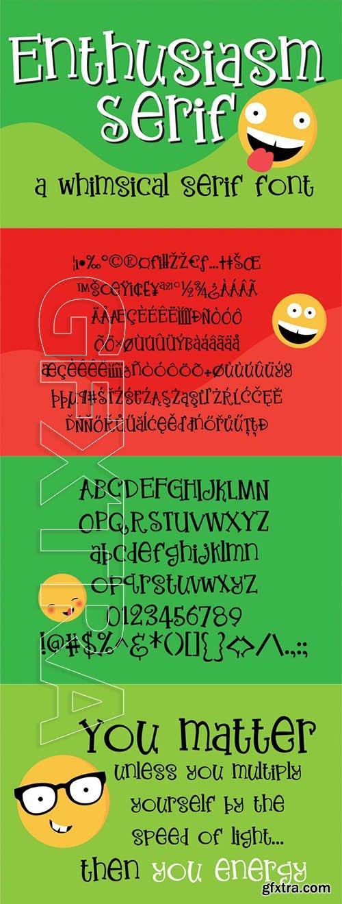 ZP Enthusiasm Serif
