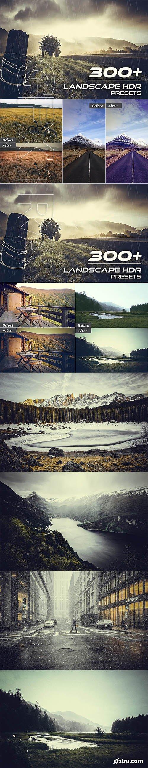 CreativeMarket - 310+ Landscape HDR Presets 2684134