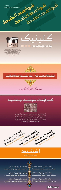 Afshid Font Family - 6 Fonts
