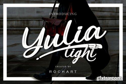 Yulia Light Font