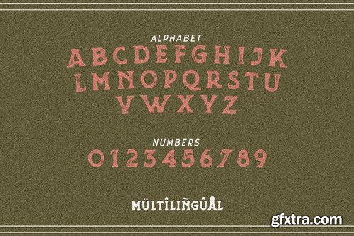Grit and Caliber Font Family  - 3 Fonts