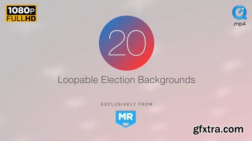Videohive Election News Backgrounds 3 18106768