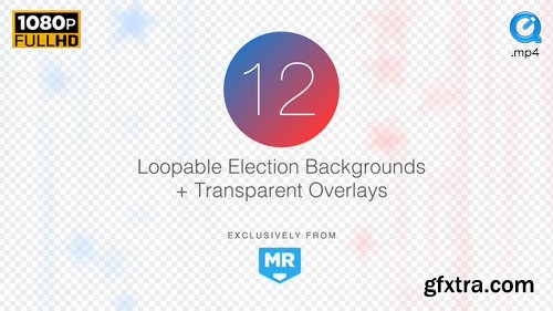 Videohive Election News Backgrounds 4 18106770
