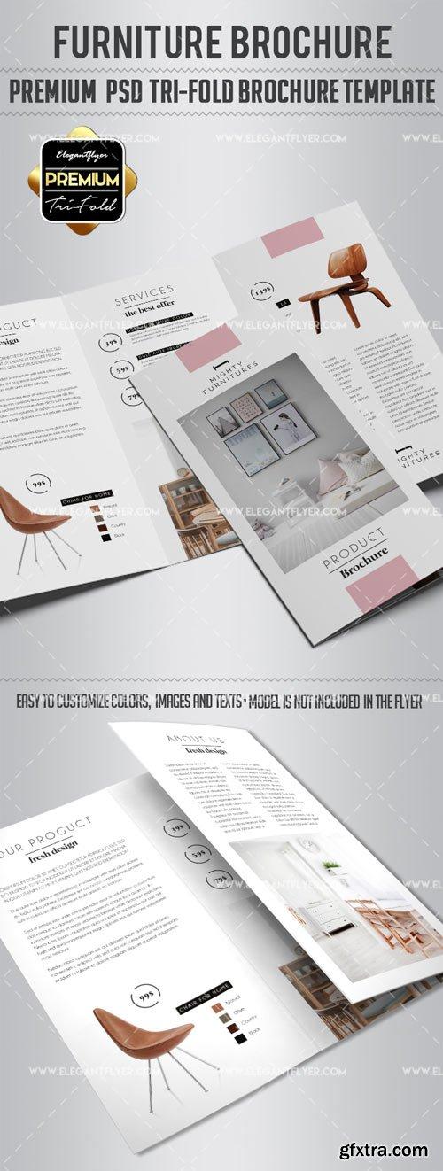 Furniture V3 2018 Tri-Fold Brochure PSD Template