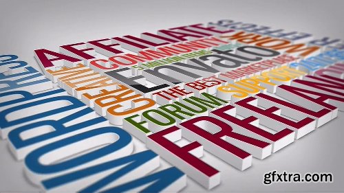 Videohive Multipurpose Clean 3D Text to Logo 8430709
