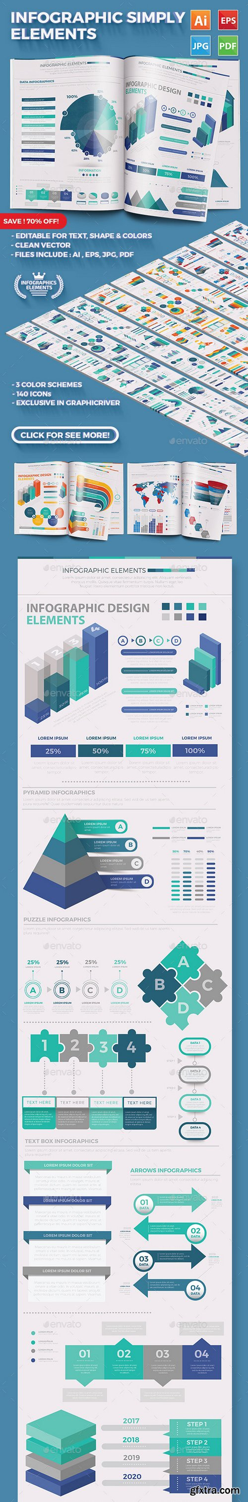 Graphicriver - Simply Infographics 21881849