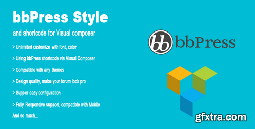 CodeCanyon - bbPress Style & Shortcode for Visual Composer v1.1 - 17411628