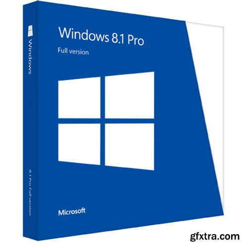 Windows 8.1 Pro Vl Update 3 (x64) En-Us ESD July 2018 Pre-Activated