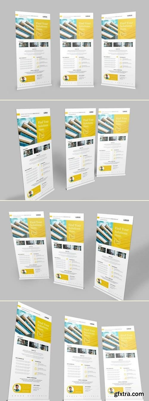 Roll up Banner Properties