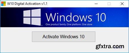 Windows 10 Digital Activation Program 1.1 By Ratiborus