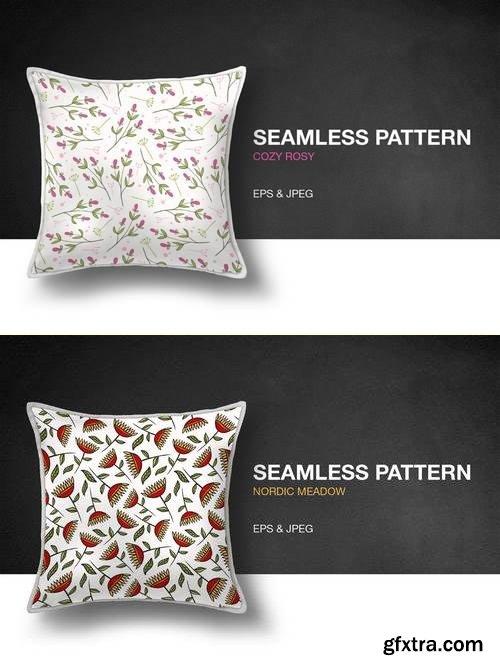 Nordic Meadow Seamless Pattern