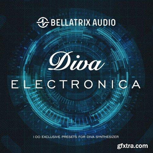 Bellatrix Audio Electronica for u-he Diva H2P-SYNTHiC4TE