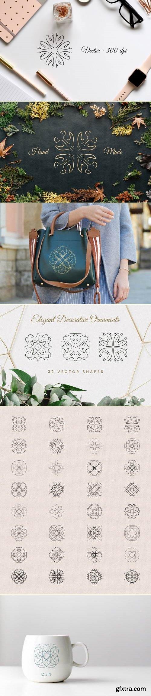 Elegant Decorative Ornaments