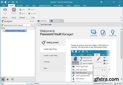 Password Vault Manager Enterprise 9.6.0.0 Multilingual