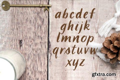 LBBrushy Font