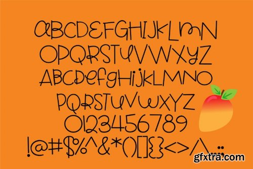 Peach Mango - 2 Fonts