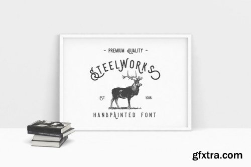Steelworks - 5 Fonts
