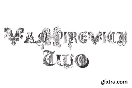 Vampirevich - 3 Fonts