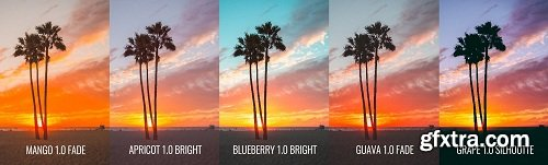 Presets and Chill - Sunset Collection Lightroom Presets