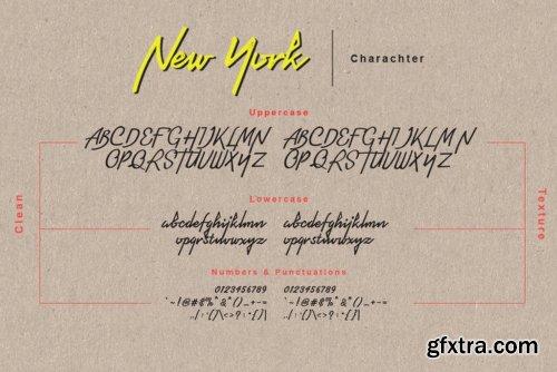 Newyork Bronx Sans-Script Duo DUO - 4 Fonts