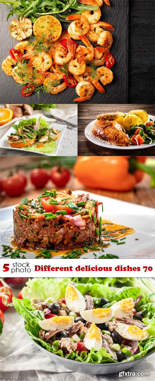 Photos - Different delicious dishes 70
