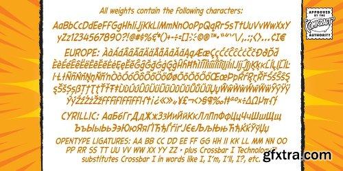 Samaritan Tall Lower Font Family - 4 Fonts