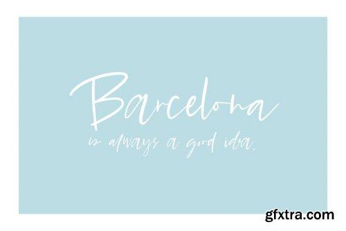 Barcelona Nights Font