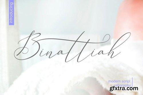 Binattiah Font