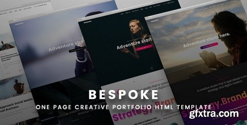 ThemeForest - Bespoke One Page Creative HTML Template - 19646860