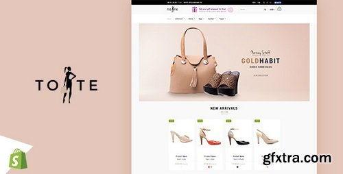 ThemeForest - Tote | Shoes and Bags Shopify theme v1.2 - 20075639