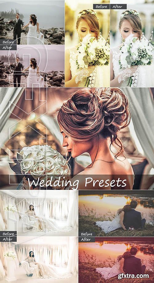30 Wedding Lightroom Presets
