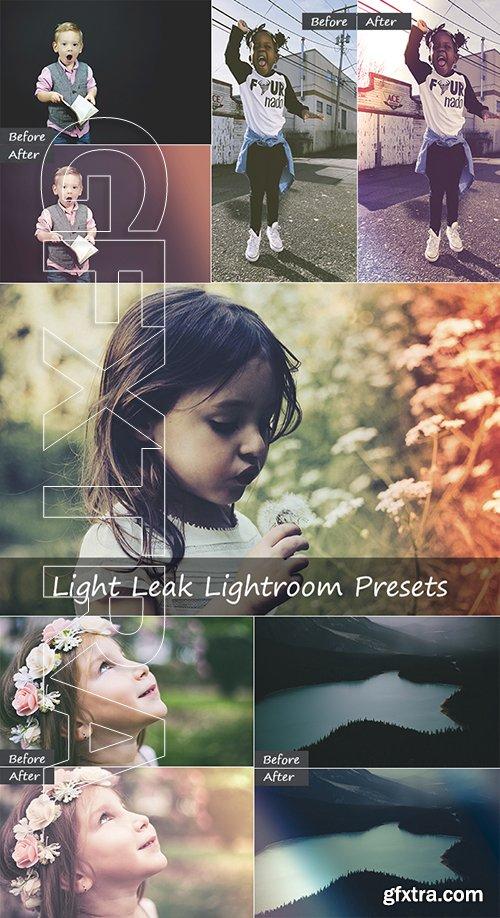 46 Light Leak Lightroom Presets