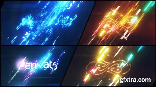 Videohive - Energetic Glitch Impact Logo - 22197045