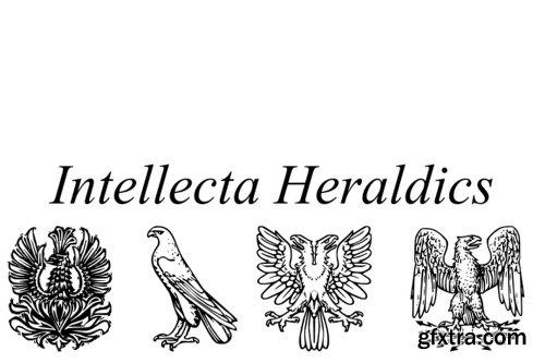Intellecta Heraldics Font