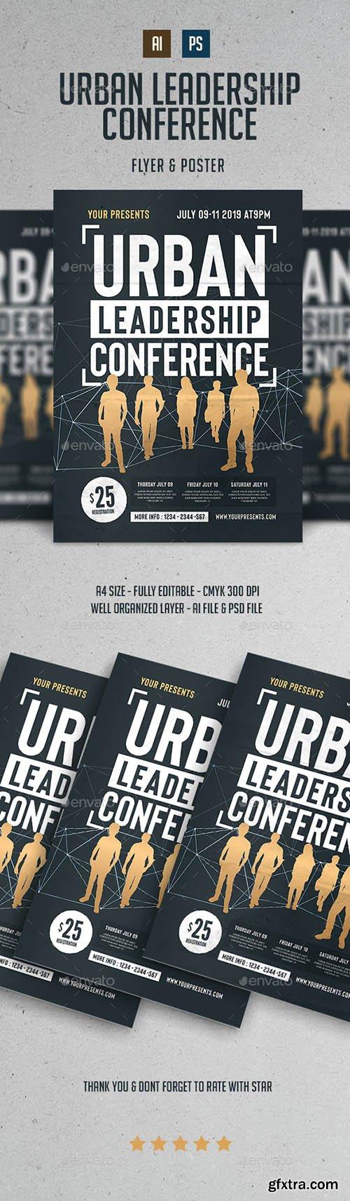Urban Leadership Conference Flyer 22302542