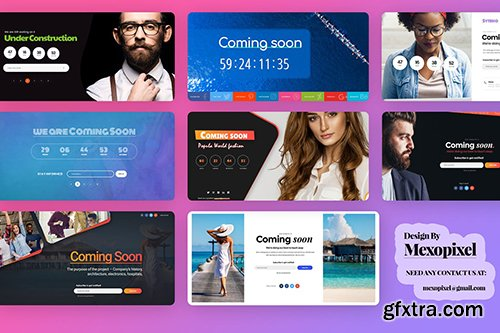 Under Construction & Coming Soon Templates
