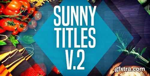 Videohive Sunny Titles v.2 20604818