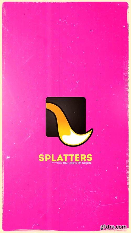 Videohive Splatter Instagram version IGTV 22171115