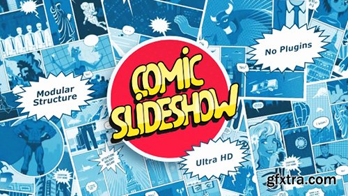 Videohive Comic Slideshow 21458557