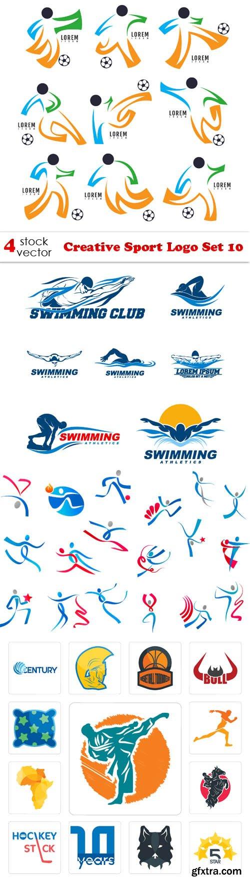 Vectors - Creative Sport Logo Set 10